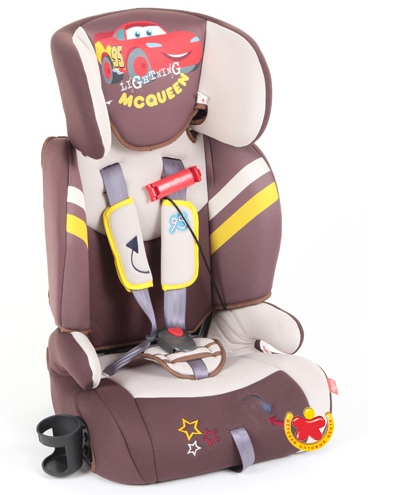 Автокресло Lider Kids Disney Тачки S-110  (9-36 кг.)
