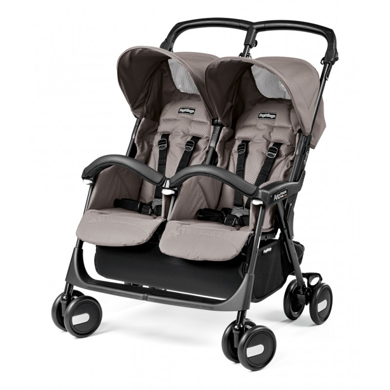 Коляска для двойни Peg Perego Aria Twin Shopper 2016