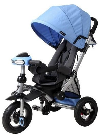 Велосипед-коляска 3-колесный Moby Kids Stroller trike 10x10 AIR Car