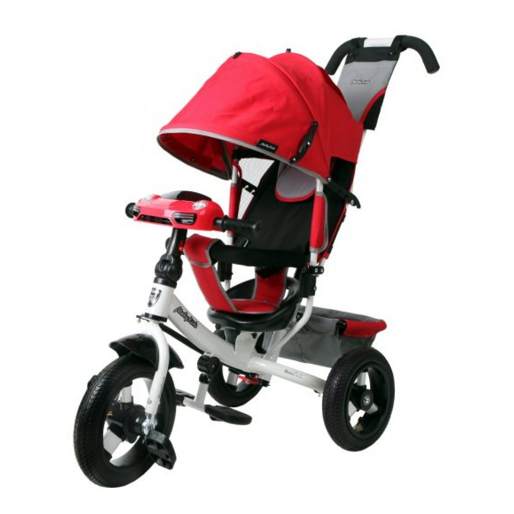 Велосипед 3-колесный Moby Kids Comfort 12x10 AIR Car